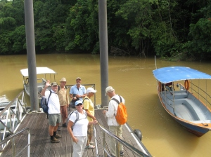 Returning from Niah Caves
