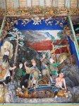 Temple door at museum