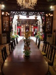 Dining room at Peranakan Museum