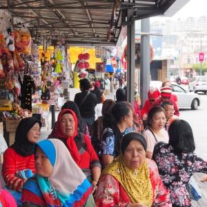 Waiting at the bus stop - Penang