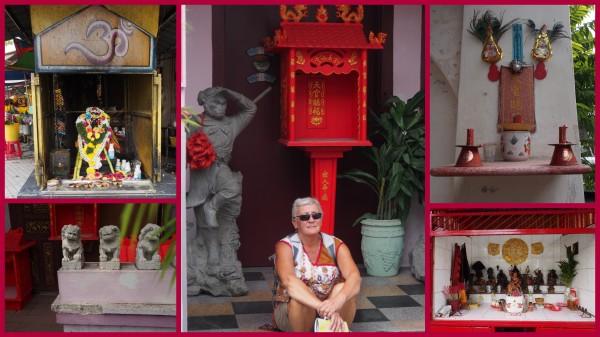 Penang - street shrines