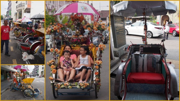 Penang rickshaws