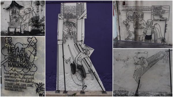 Penang  -  Street Art