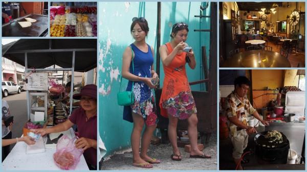 Eating in Penang