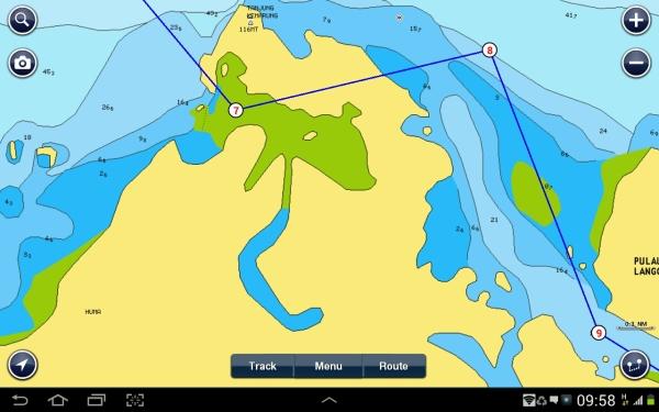 Tanjang Rhu anchorage