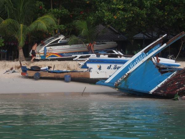 Koh Phi Phi harbour