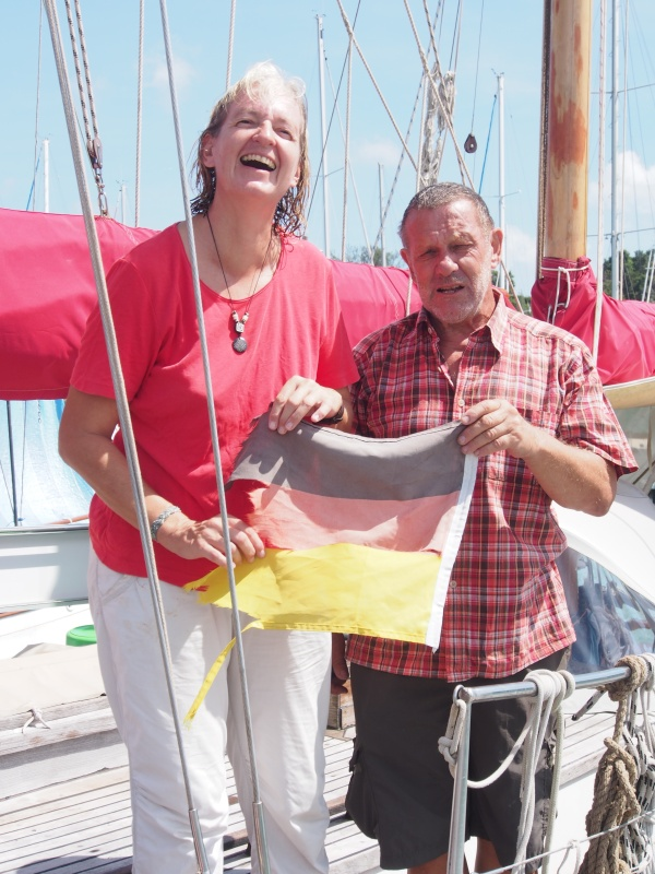 Antje and Holger - recent  gin adapters