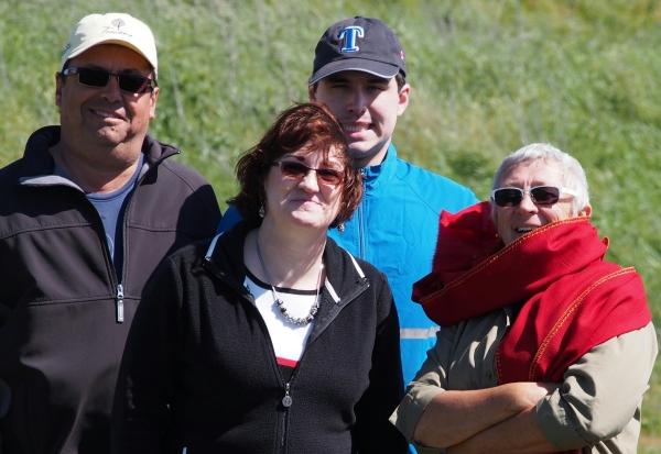 Cliff, Debbie, Nicholas, Connnie