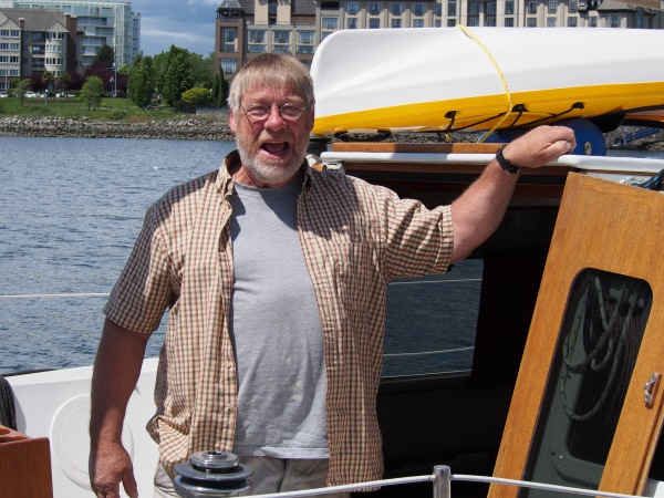 And Fred, who's never happier than when he's on his boat, I think