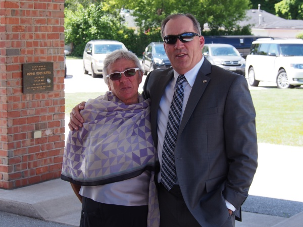 Sister and brother - Connie and Terry