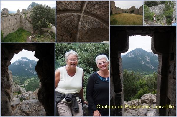 Chateau de Puilaurens a Lapradelle