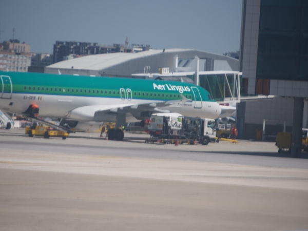 No we didn't fly Air Lingus