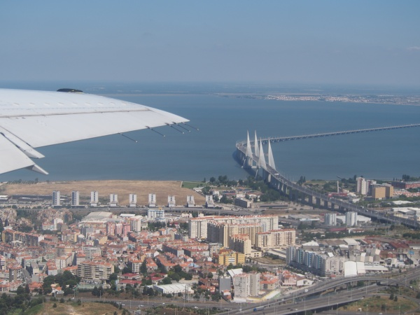 Arriving in Lisbon