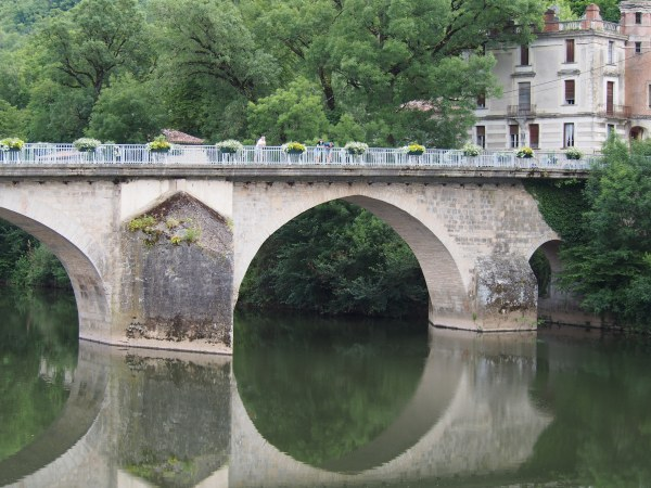 The quintessential European scene. This one is in St. Antonin Noble Val