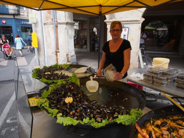 Moules and frites - my favourite
