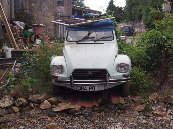 Saissac - my getaway car