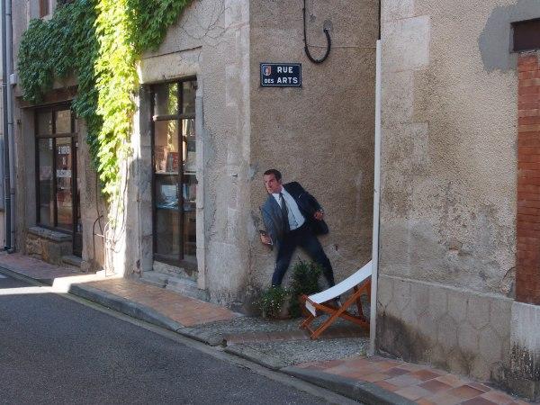 Montolieu - seen creeping around town
