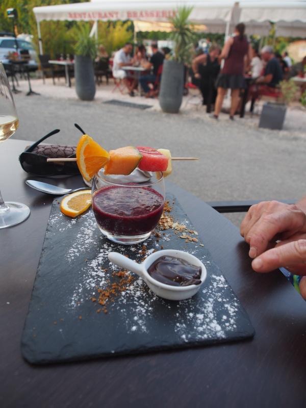 Dessert at L'O a la Bouche