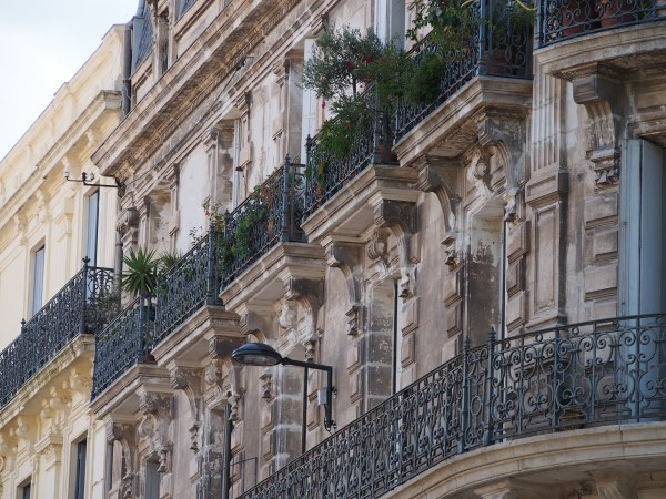 Love the iron railings in France