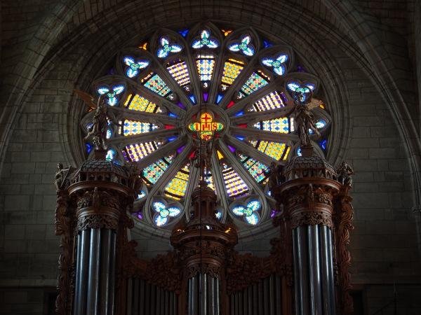 Inside St.-Nazaire Cathedral