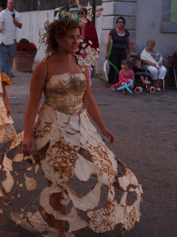 Brousse - the annual paper dress festival. Brousse has one paper making establishment still in operation. Worth visiting