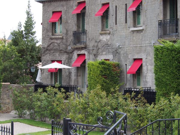 La Citie - Carcasssonne. The Barbacane Hotel located right in the centre of La Cite - beautiful place