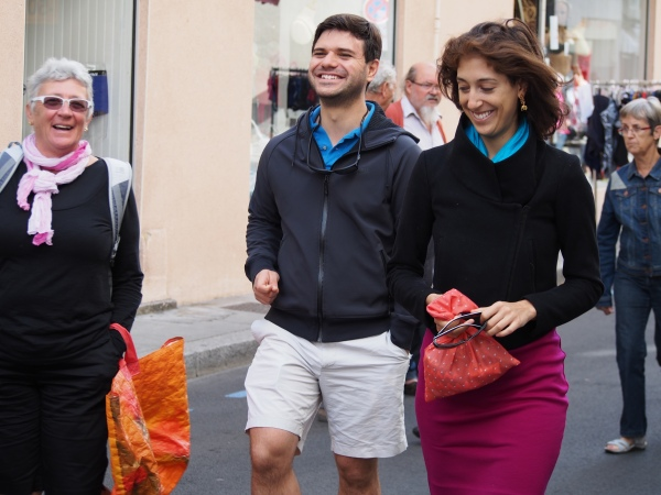 Connie, Petko and Sammie