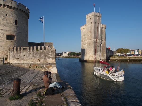 The entranceway to La Rochelle