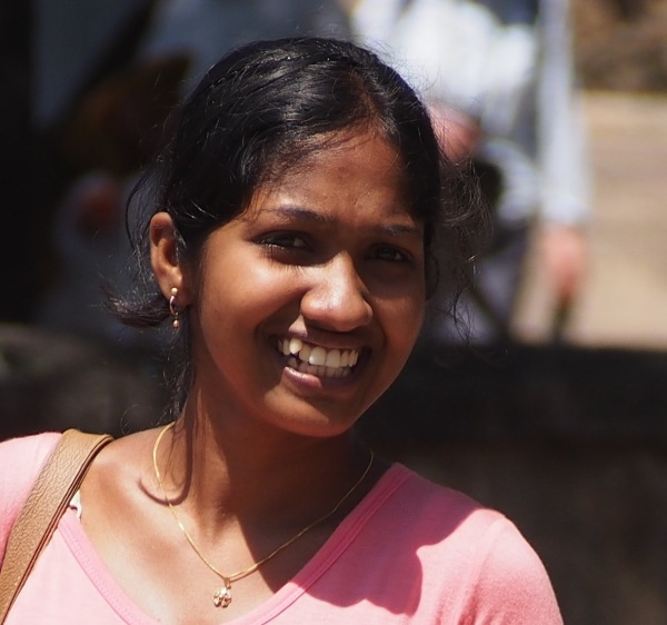 Another wonderful Sri Lankan welcoming smile