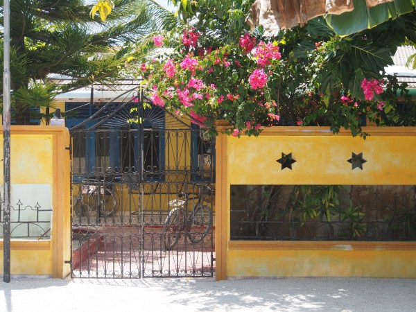 Gateway entrance to a Kudafushi home