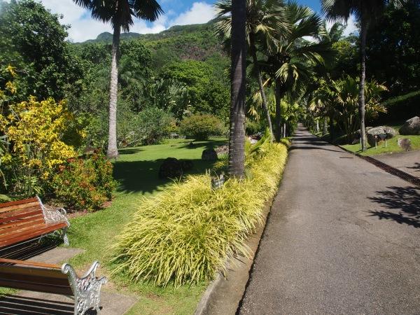 Entrance to the botanical gardens