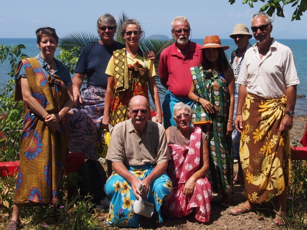 For visiting the sacred banyan tree in Nosy Be one must be appropriately dressed