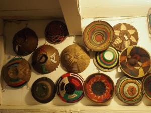 Incredible display of baskets