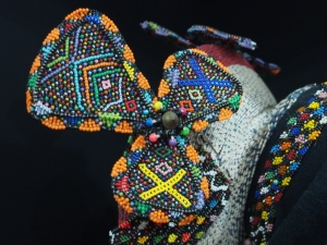 Detail of a hat