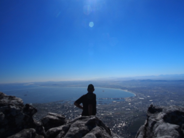 Overlooking Cape Town from Table Mountain