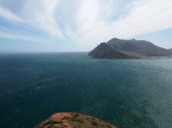 Looking across the Hout Bay