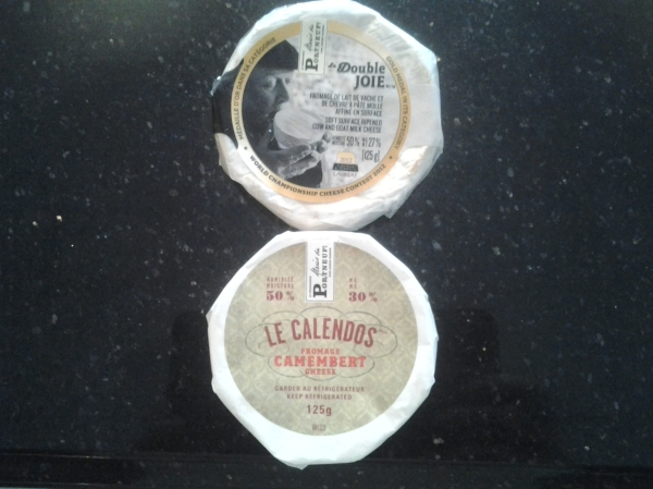 Ah, Quebec cheeses one has a hard time finding in the rest of Canada, especially the west