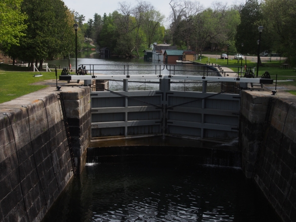 Chaffey's Locks on the Rideau Canal