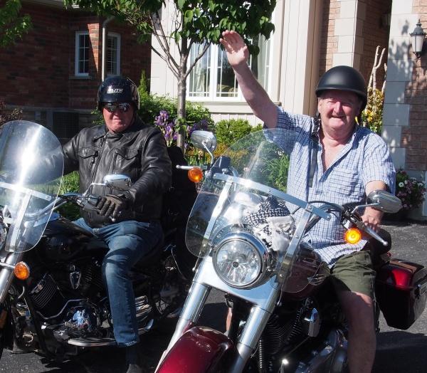 Brian and Richard