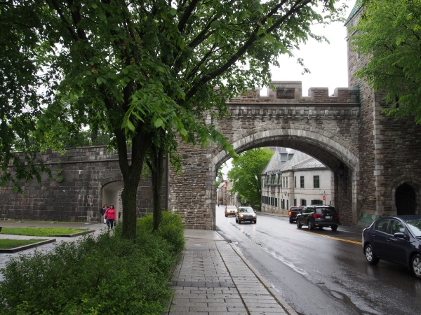 From Rue Grande Allee and along Rue St. Louis into old town QC