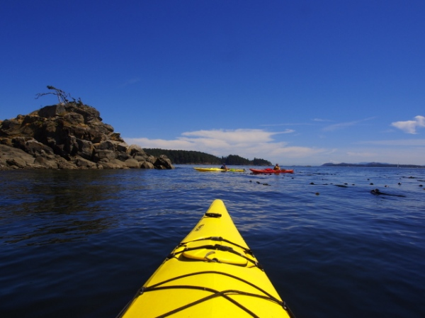 Kayaking the Haro Straits